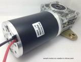 мотор шестерни DC коробки передач глиста серии 80mm прямоугольный, высокая эффективность малошумная