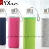 Da garrafa de água de vidro da fruta da garrafa de água do vidro de Borosilicate da Quente-Venda jarro bebendo de vidro do vidro da garrafa de água