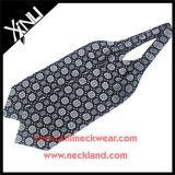 Custom Jacquard Woven Mens Fashion Ascot Silk