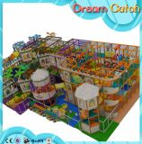 Nieuwe het Maken School Gebruikte Plastic Kinderen de Moderne Speelplaats Van uitstekende kwaliteit 2017