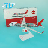 Modello piano innovatore semplice dell'Asia dell'aria del Airbus A320neo 26cm (Tailandia)