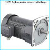 Motores engrenados helicoidais da unidade da série G3 com flange do IEC