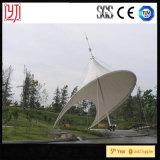 Azotea extensible de la tela de la estructura de la membrana de la película de ETFE para la sombrilla del parque público