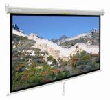"""écran de projection 84 """" X84 """" manuel avec le blanc mat de fibre de verre, prix concurrentiel"""