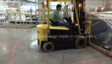 do Forklift vermelho da zona de perigo da zona do laser de 31.99*24*38.08mm luz de advertência