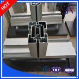 Profil en aluminium de construction personnalisé par OEM de qualité pour le guichet