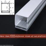 El montaje de la pared de la potencia J4127 enciende para arriba perfil del aluminio del LED