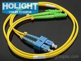 Sc к шнуру заплаты E2000A двухшпиндельному Sm оптически