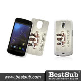 Dekking van de Telefoon van de Sublimatie van Bestsub de Plastic Promotie voor de Nota I9250 van de Melkweg van Samsung (SSG05)