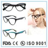 Frame van de Glazen van het Oogglas van Eyewear van de Voorraad van de Acetaat van de manier het Nieuwe In het groot Optische