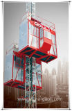 Passeggero di Gaoli Sc200/200 & elevatore della costruzione dell'azionamento della cremagliera & del pignone di uso materiale