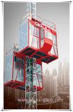 Gaoli Sc200/200の乗客及び物質的な使用法のラック及びピニオン駆動機構の建物の揚げべら