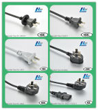 Stifte des China-Netzanschlusskabel-Stecker-drei mit 6A, 10A, 16A