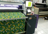 Imprimante à bande de Digitals pour que le roulis de tissu roule l'impression