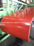 El acero de la alta calidad PPGI/PPGL enrolla las hojas