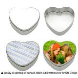 Sublimation-Zinnblech-Süßigkeit-Kasten angepasst mit Wärmeübertragung-Leerzeichen