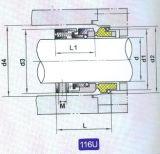 Selo mecânico para a bomba (116U)