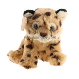 La meilleure jouet personnalisé d'animal de léopard bourré de simulation par peluche