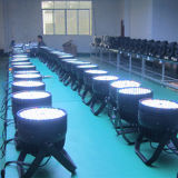 DJ RGBW 120X3w PAR cubierta 64 LED de luz de escenario