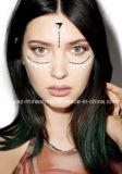 Белизна стикеров глаза партии кожи поставщика Китая безопасная обивает стикеры стороны драгоценностей тела (S027)