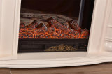 MDFのLED (339)が付いている電気暖炉を熱するホーム家具の彫刻
