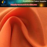 Tela de elasticidad de poliéster en stock, tejido de poliéster tejido elástico (R0161)