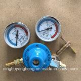 A uso medio tutto il regolatore ad ossigeno e gas dei regolatori d'ottone del gas