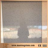Сверкная пол камня кварца серого стеклянного цвета кварца искусственний