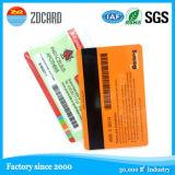 Carte futée d'identification de morceau de PVC RFID de plastique