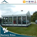 10m Width Glass Wall Marquee Modular Frame Design europeo Event Tent
