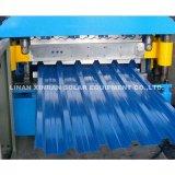 Metálica de acero corrugado perfiles de cubierta Máquina formadora de rollos