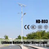 (ND-R03) Doble armas 60W / 30W LED blanco luces de calle solares