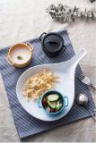"""Dinnerware- van de Melamine van 100% de """"Zwarte """" Vierkante Plaat van de Reeks/Food-Grade Vaatwerk van de Melamine (QQBK4501)"""