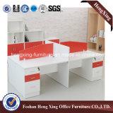 Перегородка офиса 4 рабочих станций мебели рабочей станции персоны (HX-6M173)