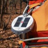 La linterna solar al aire libre del LED, el mejor socio para ir de excursión y el acampar, lámpara de carga solar