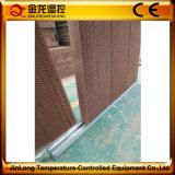 Precio resistente a la corrosión de la cortina de aire de la pista de la refrigeración por evaporación del invernadero de Jinlong