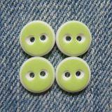 El botón más nuevo de los orificios del poliester 2 del alto grado de la manera