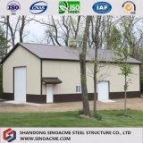 Almacén ligero prefabricado de la estructura de acero de Sinoacme