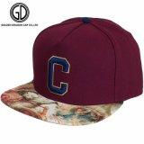 Chapeau neuf coloré de Snapback d'ère de type d'impression de sublimation de la qualité 2017 avec la broderie