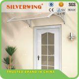 Porte fenêtre Auvent extérieur Polycarbonate Patio Sun Shade Cover Canopy