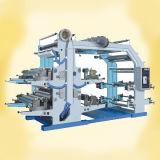 Machine d'impression flexographique de Quatre-Couleur