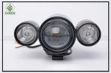 車、オートバイ、トラックのためのU10 20W LEDのオートバイのレーザー光線のヘッドライト12-80V