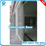 Тип автоматической двери телескопичный сползая