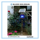 Rádio solar ao ar livre da luz do gramado para o corredor do corredor da estrada com a função para matar o mosquito