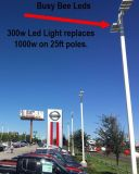 Caixa de sapato LED Box de estacionamento Tênis, quadra de basquete, Drive Drive