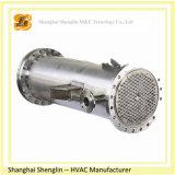Shell de acero inoxidable de la nueva condición 2016 y tipo evaporador aire acondicionado del tubo