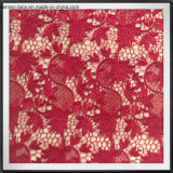 Merletto chimico della guipure del poliestere del merletto del ricamo del merletto della guipure del fiore per l'indumento