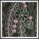 女性のためのDress敏感な網の刺繍のレースのテュルの刺繍のレースの花の刺繍されたレース