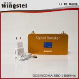 Новая ракета -носитель сигнала телефона конструкции WCDMA 2100MHz 3G с LCD