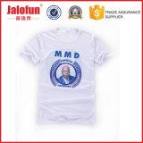 Impression faite sur commande promotionnelle en gros de T-shirt de coton de la Chine pour la campagne